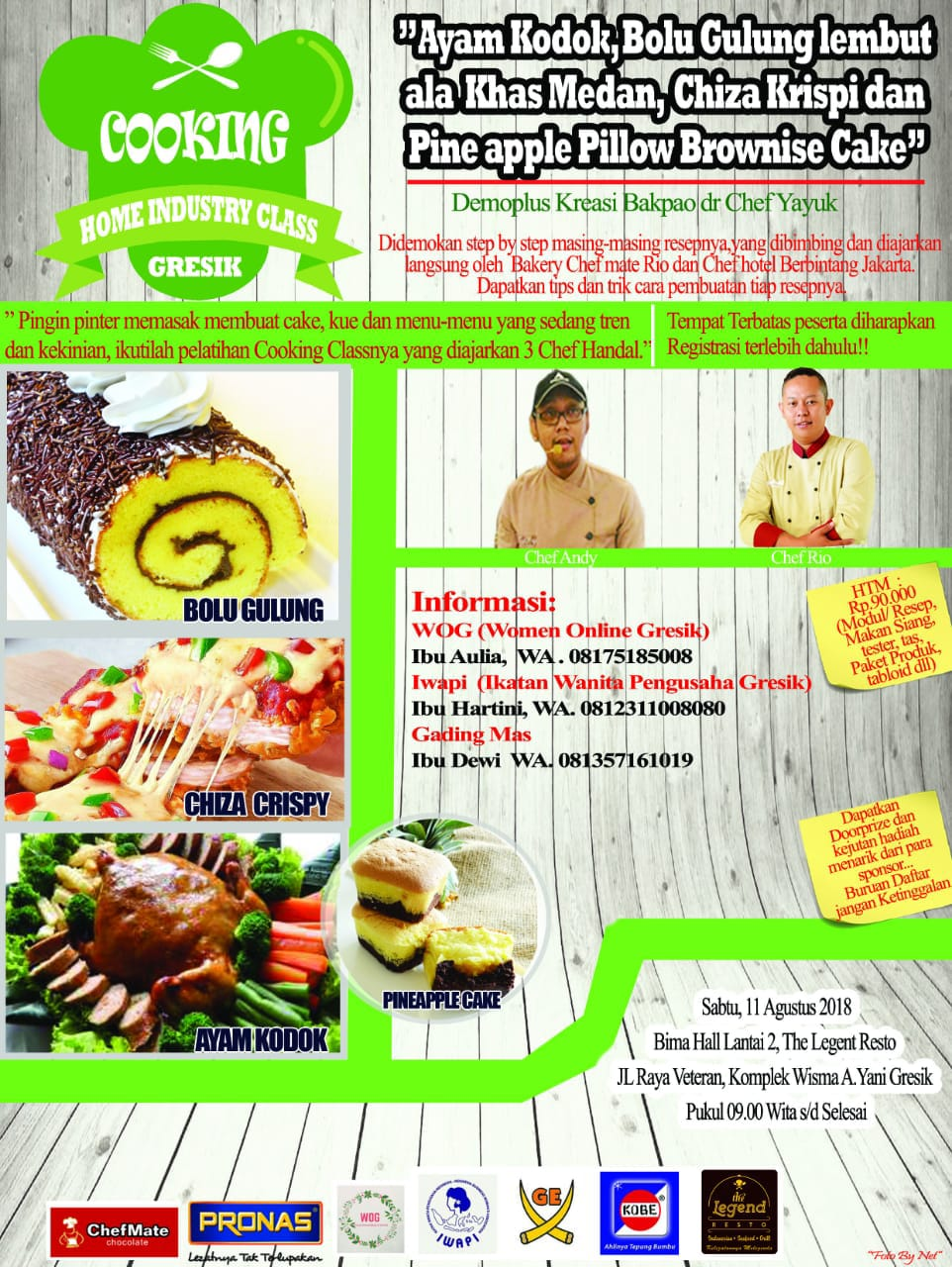 Cooking Home Industry Class Gresik