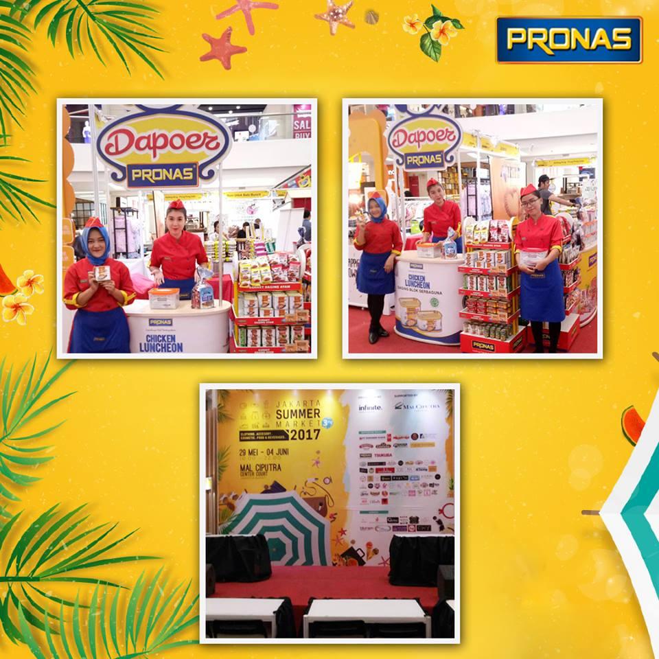 Dapoer Pronas di Jakarta Summer Market 2017
