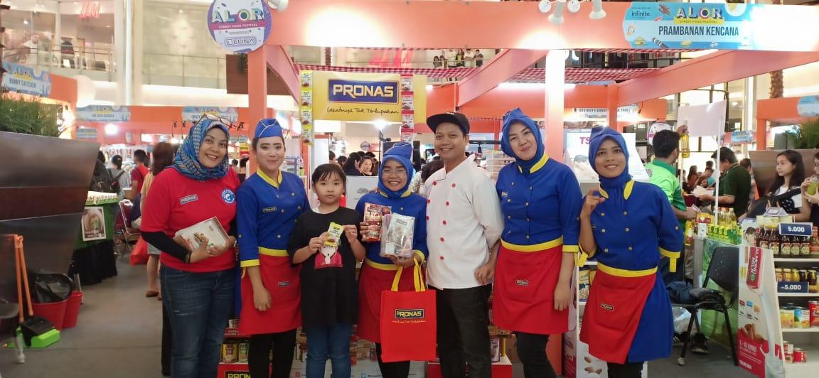 Pronas Berpartisipasi pada Alor Street Food Festival 2019