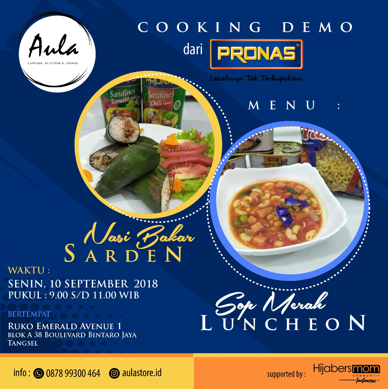 Cooking Demo Pronas