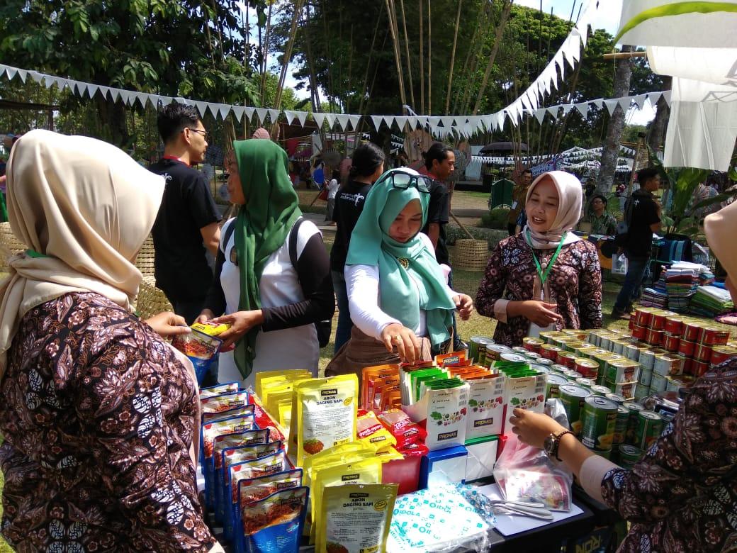 Pronas Berpartisipasi pada Festival Payung Indonesia