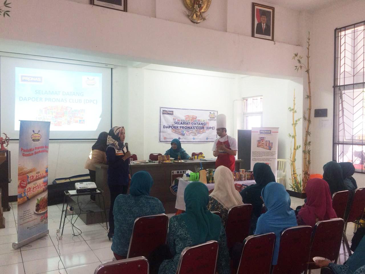 Kopdar Dapoer Pronas Keluarahan Baros Bandung