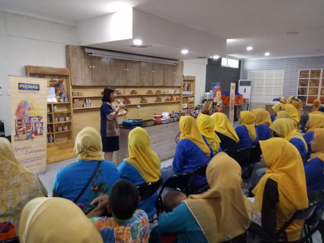 DPC di kantor Pronas dengan komunitas Sekolah Boga sejabodetabek