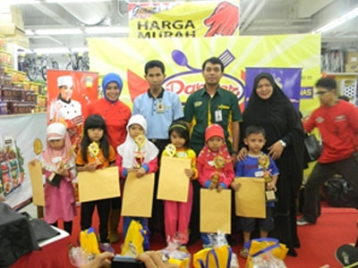 Dapoer Pronas Challenge - Giant Mitra 10, Cibubur - 31 Mei 2015