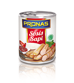 Indonesian Canned Beef Sausage