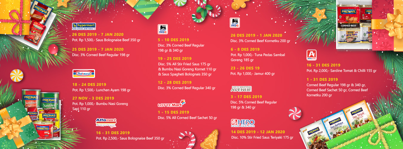 Promo Instore Pronas Desember 2019