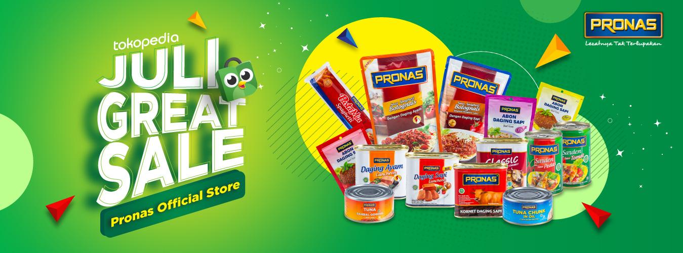 Pronas Tokopedia Great Sale