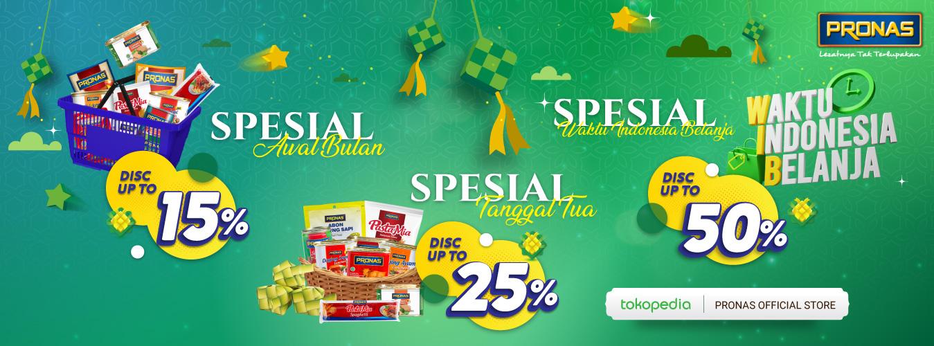 Pronas Lebaran Special Sale