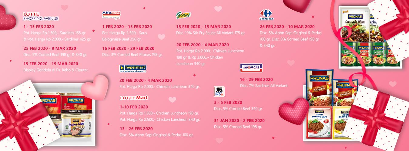 Promo Instore Pronas Februari 2020