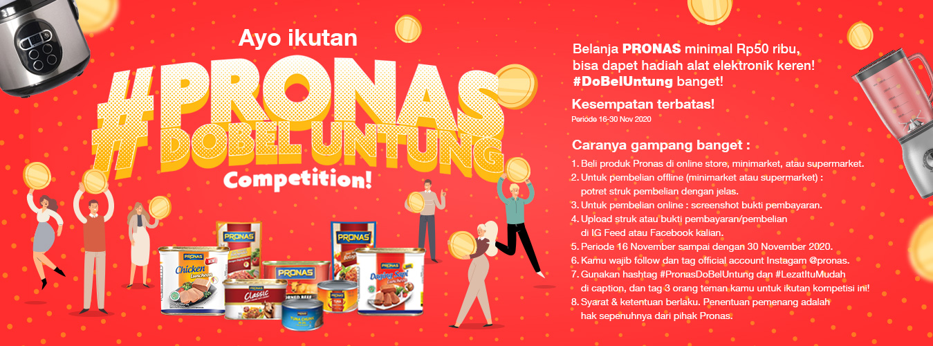 Pronas Double Untung Competition