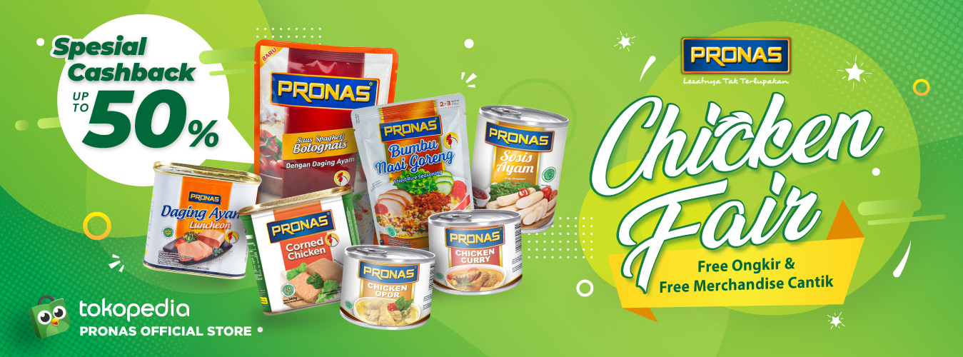 Tokopedia Pronas Chicken Fair
