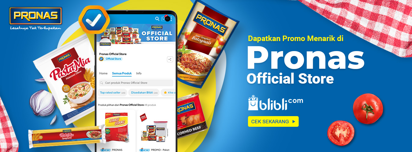 Pronas Official Blibli
